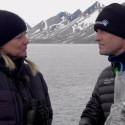 Joakim Odelberg träffar Maria Vallin på Svalbard!