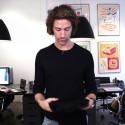 Fredrik Moberg från Tabs går igenom produktfördelarna med MabsComp Nordic Collection