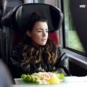 Miriam Bryant förkroppsligar Göteborg i MTR Express reklamfilm
