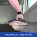 Mapefloor Comfort System: fogfria, ergonomiska och stegljudsdämpande golv