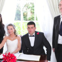 Valentines Day Wedding Langtons Essex