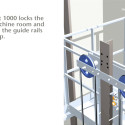 KONE Jumplift - Construction Time Use Elevator
