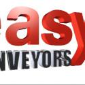 Easy Conveyors bandtransportörer med olika typer av transportband.