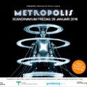 Trailer för filmklassikern Metropolis i Scandinavium