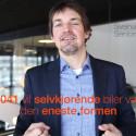 I 2041 vil selvkjørende biler være den eneste formen for persontransport med motor i Kristiansand