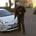 Toyota Prius Autonomous Emergency Braking Demonstration