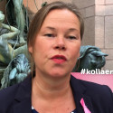 BROs Generalsekreterare Marit Jenset hissar kampanjen #kollaenextragång