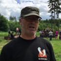 Naturvejleder Søren Risborg fortæller om kulsvidning