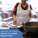Sprogundervisning imellem køkkengryder og karklude