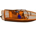 Fullständig 3D-modell av Golden Cut W28