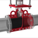 Animation of PVG general line pinch valves