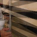 Nordskiffer montage av enkeltäckning på plåtläkt