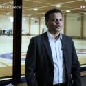 TCS customer curling event