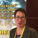 Sara Brown från LoRa Alliance™ talar på Smart City Connection i september