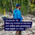 Så kartlägger drönaren Sveriges geologi