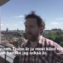 Uje Brandelius får årets Evert Taube-stipendium.