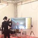 I Estrellas monter på DreamHack får besökarna prova Motion capture och själva spela hjälten i ett specialutvecklat dataspel.