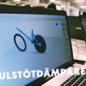 """Produktutveckling och skaparglädje utifrån temat """"framtidens cykel"""""""
