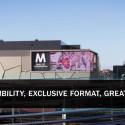 Europas största LED-display Mall of Scandinavia