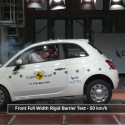 Fiat 500 Euro NCAP Crash Tests 2017