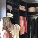 En titt in i min garderob en dröm som blev verklighet!