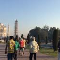 Soloppgang ved Taj Mahal