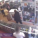 FULHAM SHOP ASSAULT:  Do you know this man and/or woman?