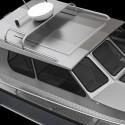 Här byggs aluminiumbåten Alukin SCR 850 i 3D
