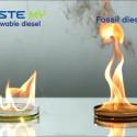 Neste MY förnybar diesel jämfört med fossil diesel