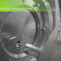 5 axis abutment milling with Datron D5