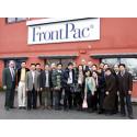 Kinesisk delegation besöker FrontPac