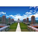 Invigning av världens största buddhistiska vallfartsort i Taiwan