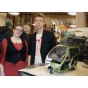 Fordon, raketer och verktyg i skarpa studentprojekt