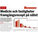 Resumé uppmärksammar internetmedicin.se
