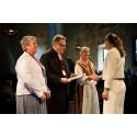 Församling mottog utmärkelse av Kronprinsessan Victoria