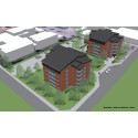 NCC bygger ytsmarta hyresrätter för mindre hushåll i Kil