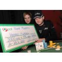 Hannu blev åländsk mästare i poker