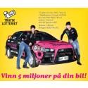Bli rallysponsor – Vinn 5 miljoner!