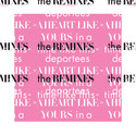 """Deportees släpper 12"""" till record store day - A Heart Like Yours In a Time Like This - The remixes"""