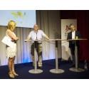 Nätverket mot cancer i Almedalen 3 juli 2012: Malou von Sivers i samtal med Carsten Rose och Roger Henriksson