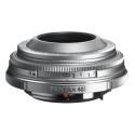 Pentax DA40mm Limited Silver edition