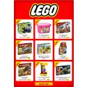-46% på utvalgt LEGO / -30% på testvinner barnesete Transformer T / -13% på kulebaner fra Quercetti / -22% på Béaba Babycook Original – dampkok, miks, varme og tine!