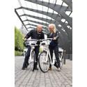 Nya stadscyklar med elmotor och GPS