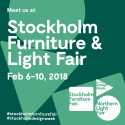 Beslag Design ställer ut på Stockholm Furniture Fair 2018