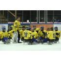 Sveriges trupp till paraishockey-VM uttagen