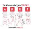 Antalet strokedrabbade minskar kraftigt