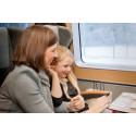 Tågresandet ökar över hela landet