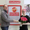 Motonetin kanta-asiakkaita yli miljoona