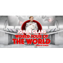 Johan Glans - World Tour Of The World till Malmö Arena i februari 2018!