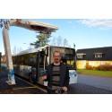 Forskning om Europas nordligaste elbusslinje